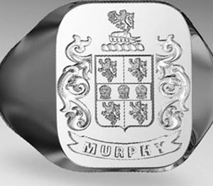 Irish Family Crest Rings Irish Engraved Family Crest Rings
